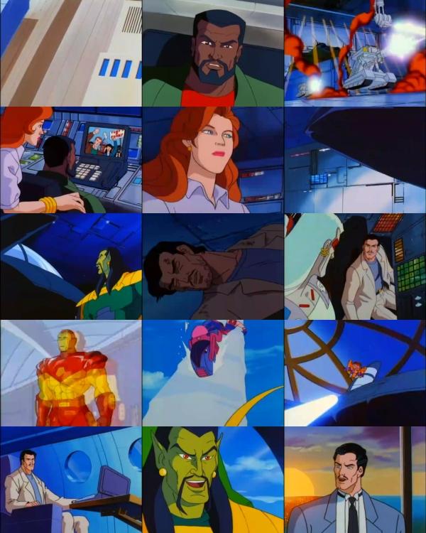Serie Animada Iron Man 1994 Español Latino Uncliknomas